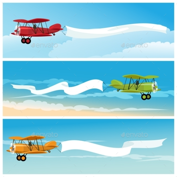 GraphicRiver The Airplanes 10865704