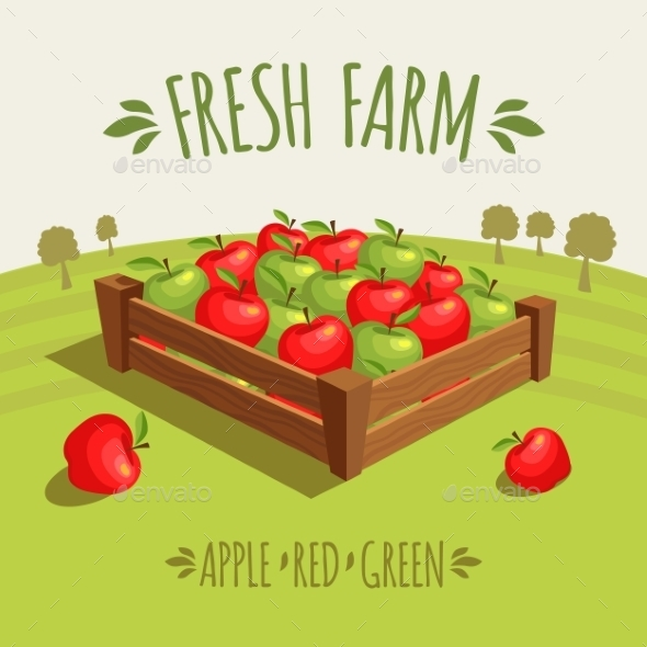 GraphicRiver Fresh Farm 10865907