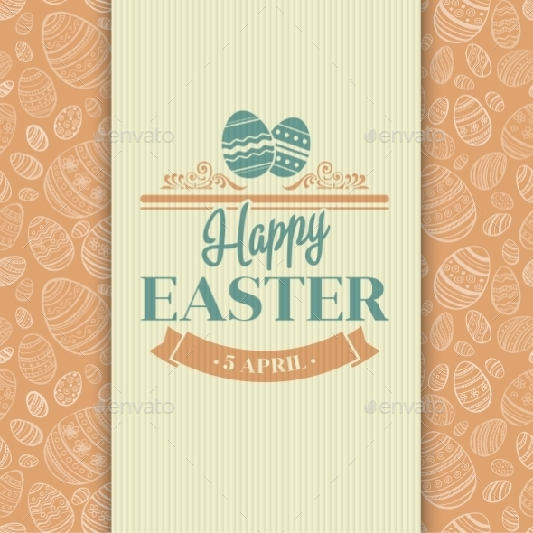 GraphicRiver Easter Card 10866097