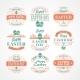 Easter Labels  - GraphicRiver Item for Sale