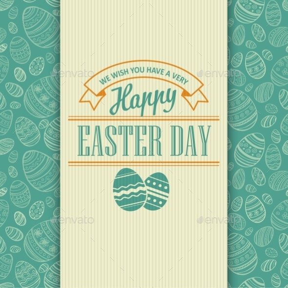 GraphicRiver Easter Card 10866102