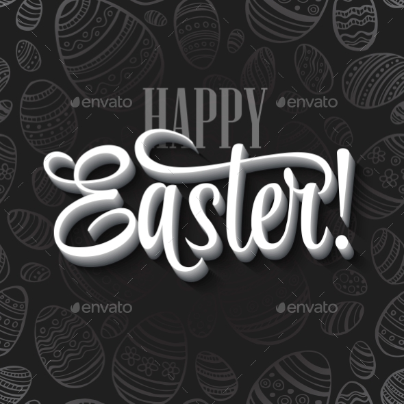 GraphicRiver Easter Card 10866107