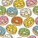 Donuts Seamles Pattern - GraphicRiver Item for Sale