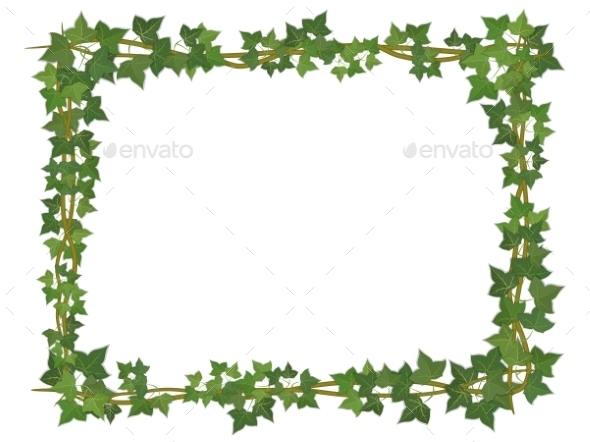 GraphicRiver Ivy Frame 10866656