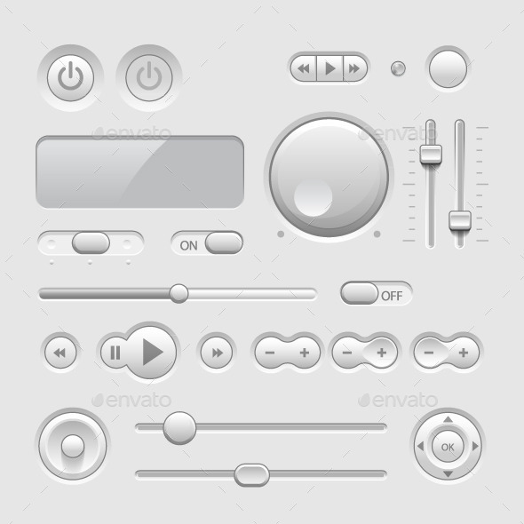 GraphicRiver Web UI Elements 10866709