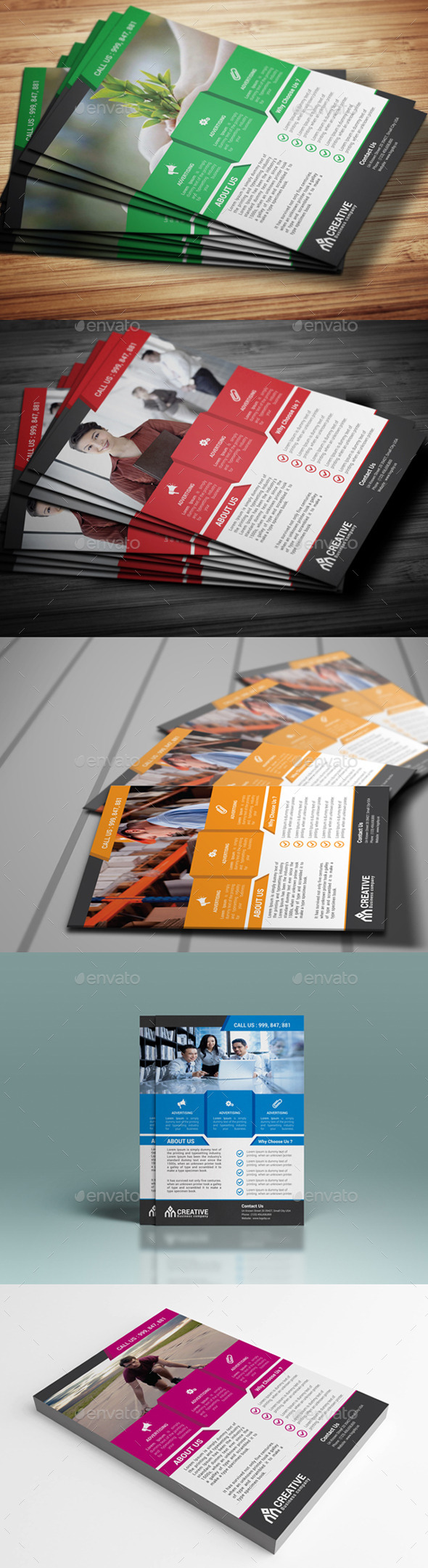 GraphicRiver Corporate Flyer Template 10866795