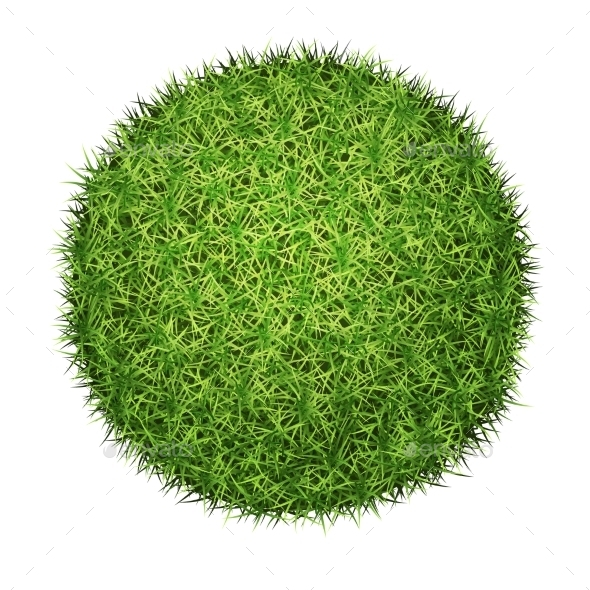 GraphicRiver Green Grass Ball 10867216