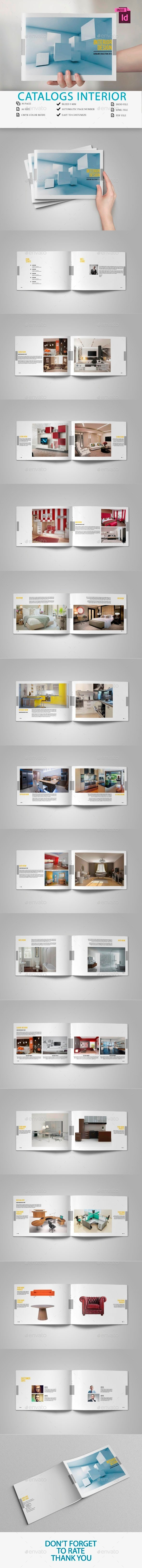 GraphicRiver Catalogs Interior Brochure 10867275