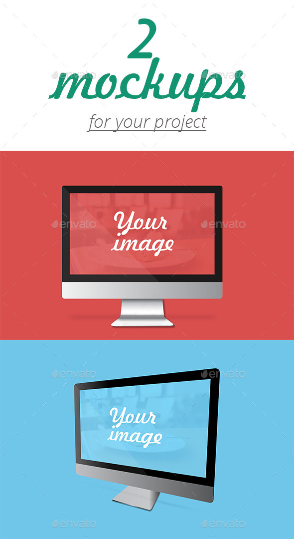 GraphicRiver Flat Devices Mockups 10703557