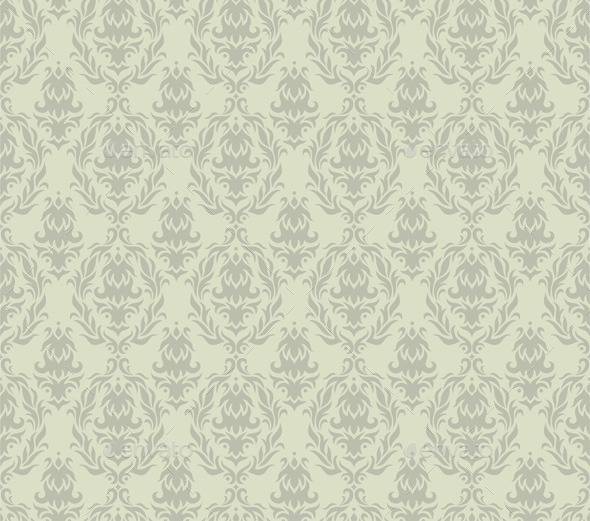GraphicRiver Gray Seamless Damask Pattern 10868032