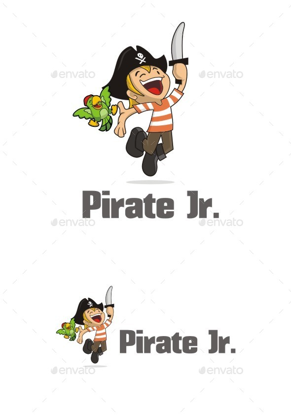GraphicRiver Pirate Jr 10856426