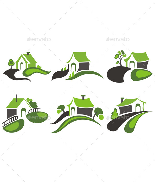 GraphicRiver Real Estate Symbols 10868314