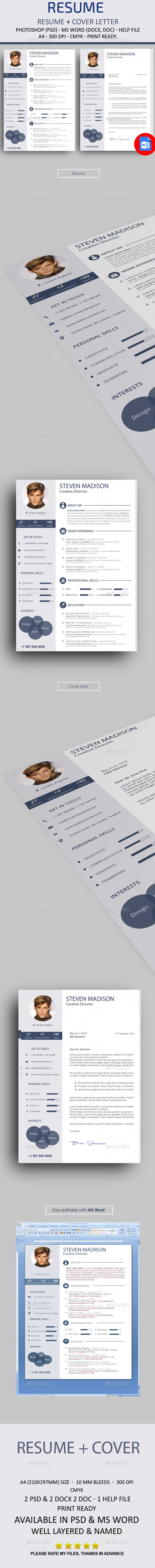GraphicRiver Resume 10868438
