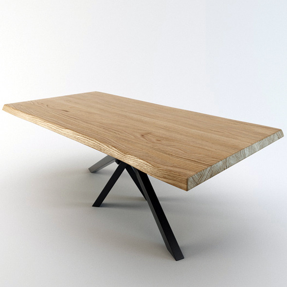 Shangai Table - 3DOcean Item for Sale