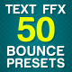 Bouncing Text Presets - VideoHive Item for Sale