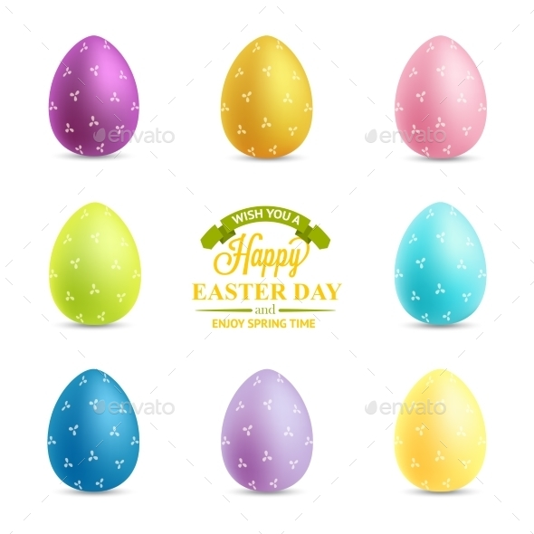 GraphicRiver Easter Eggs 10869092