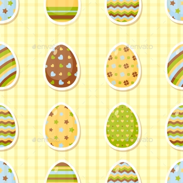 GraphicRiver Easter Pattern 10869096