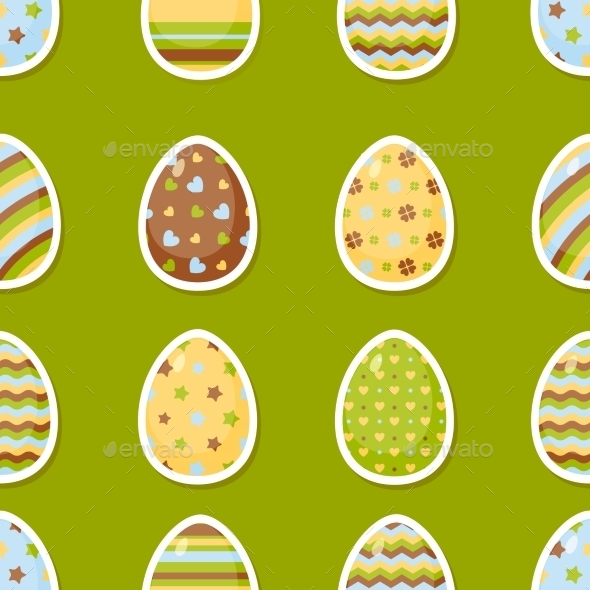 GraphicRiver Easter Pattern 10869100