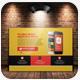 Mobile App Post Cards Template Bundle - GraphicRiver Item for Sale
