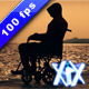 Man On Wheelchair - VideoHive Item for Sale