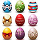 Easter Eggs Collection - GraphicRiver Item for Sale