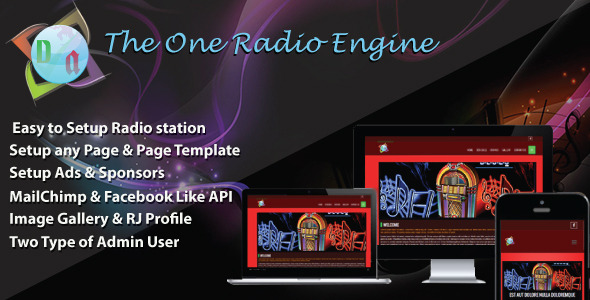 CodeCanyon The One Radio Engine 10869376