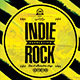 Indie Rock Flyers (2 In 1)  - GraphicRiver Item for Sale