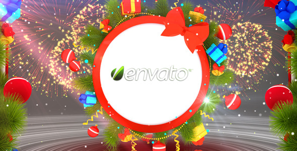 After Effects Project - VideoHive Christmas Logo Reveal 1090264