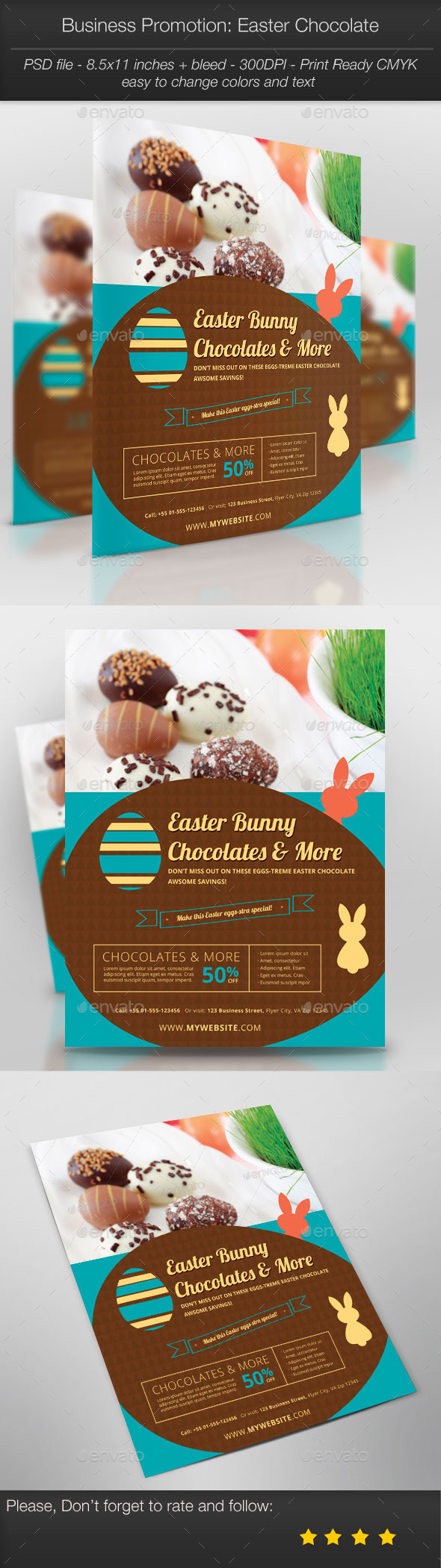 GraphicRiver Business Promotion Easter Chocolate 10870307