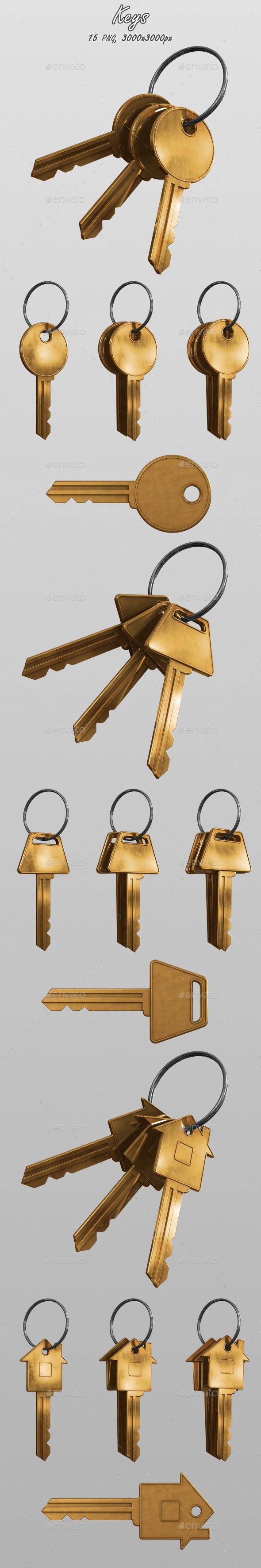 GraphicRiver Keys 10870316
