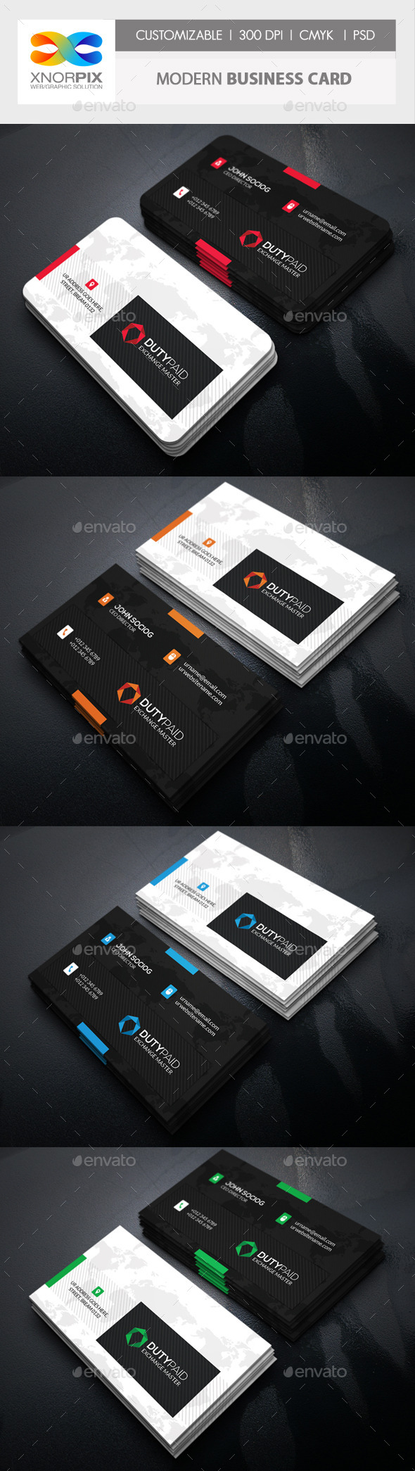 GraphicRiver Modern Business Card 10870341