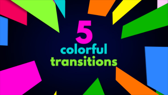 Colorful Bright Transitions