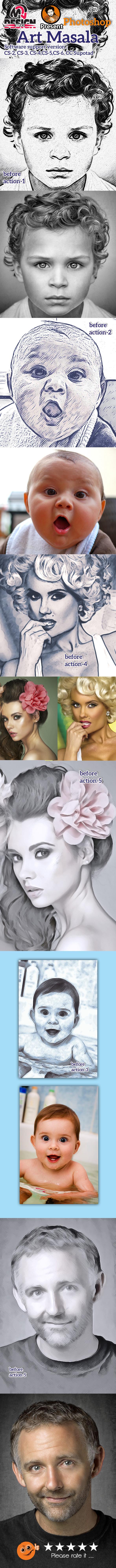 GraphicRiver Art Masala Action 10870479