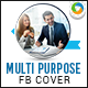 Multi Purpose Facebook Covers - 2 Designs - GraphicRiver Item for Sale