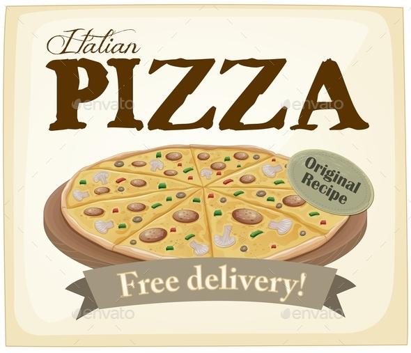 GraphicRiver Pizza Poster 10870505