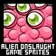 Alien Onslaught - Game Sprites