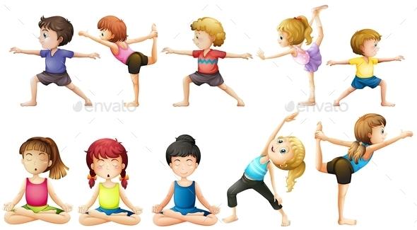GraphicRiver Yoga 10870575