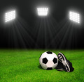 Soccer ball and shoes - PhotoDune Item for Sale