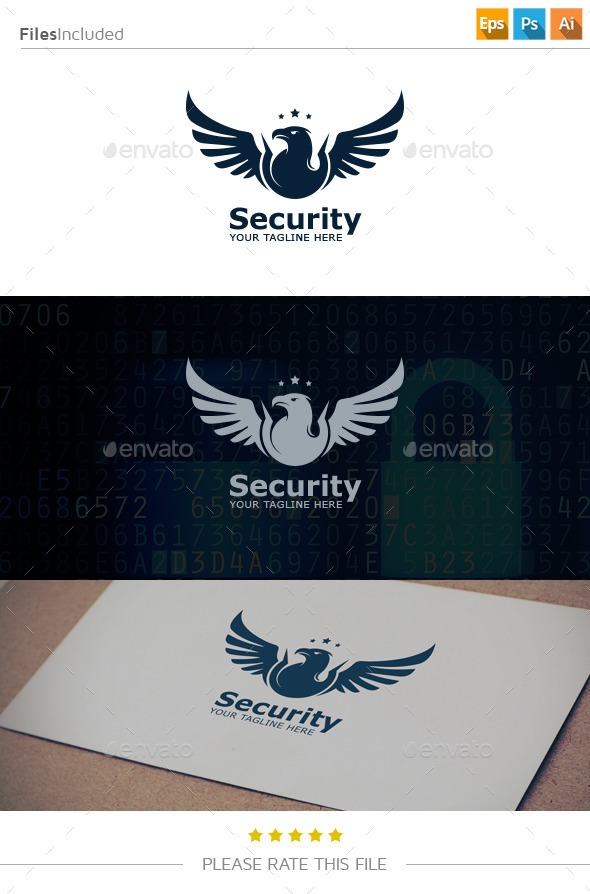 GraphicRiver Eagle Wings Logo 10870673