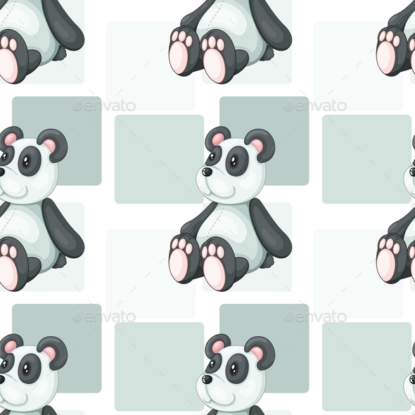 GraphicRiver Panda Bear 10870686