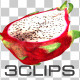 Piece Of Fresh Dragon Fruit - VideoHive Item for Sale