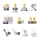 Engineer Icons Flat - GraphicRiver Item for Sale