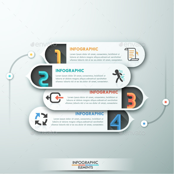 GraphicRiver Modern Infographic Paper Template 10872533