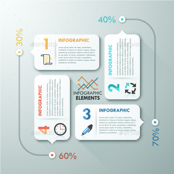 GraphicRiver Modern Infographic Paper Template 10872539