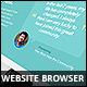 Photorealistic Webbrowser Mockup - GraphicRiver Item for Sale