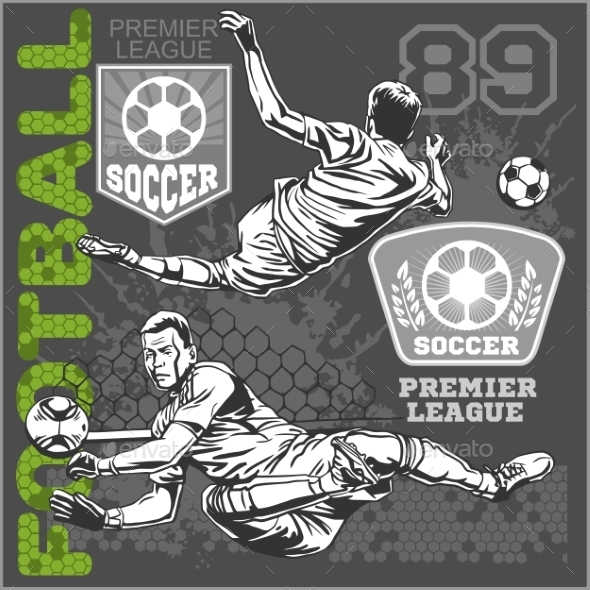 GraphicRiver Soccer and Football Players 10872973