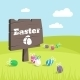 Happy Easter Day Holiday Background - GraphicRiver Item for Sale