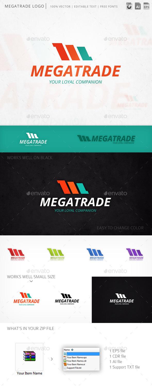 GraphicRiver Megatrade Logo 10873083