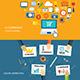 Digital Marketing and E-commerce Flat Design - GraphicRiver Item for Sale