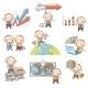 Cartoon Businessman Set - GraphicRiver Item for Sale